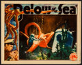 "Movie Posters:Adventure, Below the Sea (Columbia, 1933). Lobby Card (11"" X 14""). Adventure....."
