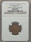 Civil War Merchants, Undated Gage, Lyall & Keeler, Lyons, Iowa, AU55 NGC.Fuld-IA570A-1a....