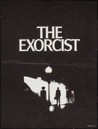 "The Exorcist (Warner Brothers, 1974). Special Poster (18.5"" X 24.75""). Horror"