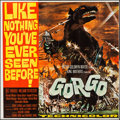 "Movie Posters:Science Fiction, Gorgo (MGM, 1961). Six Sheet (79"" X 78.5""). Science Fiction.. ..."