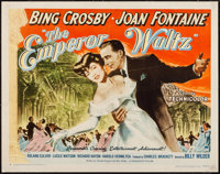 "The Emperor Waltz (Paramount, 1948). Trimmed Half Sheet (21.75"" X 27.75"") Style B. Musical"