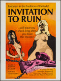 "Movie Posters:Sexploitation, Invitation to Ruin (Weisbar, 1968). Poster (30"" X 40"").Sexploitation.. ..."