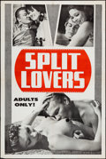 "Movie Posters:Adult, Split Lovers (Mitam Productions, 1969). One Sheet (27"" X 41""). Adult.. ..."