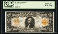Large Size:Gold Certificates, Fr. 1187 $20 1922 Mule Gold Certificate PCGS Extremely Fine 45PPQ.....