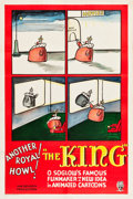 "Movie Posters:Animation, The Little King (RKO, 1934). One Sheet (27.25"" X 41"").. ..."