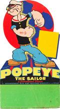 "Movie Posters:Animation, Popeye (Paramount, 1938). Stock Standee (20"" X 36"").. ..."