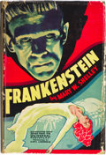 """Movie Posters:Horror, Frankenstein Universal Photoplay Edition (Grosset & Dunlap, NewYork, 1931). Autographed Hardcover Book (240 Pages, 5.5"""" X ..."""