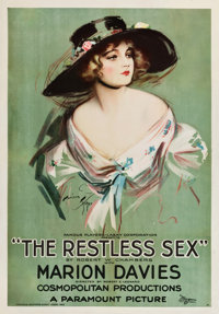 "The Restless Sex (Paramount, 1920). One Sheet (28.5"" X 41"")"