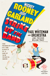 "Strike Up the Band (MGM, 1940). One Sheet (27.5"" X 41"") Style C"