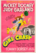 "Movie Posters:Musical, Girl Crazy (MGM, 1943). One Sheet (27"" X 40"") Style C.. ..."