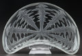 Art Glass:Lalique, SET OF SIX R. LALIQUE PISSENLIT SALAD PLATES, Circa 1921.M p. 700, No. 3007. Di. 6-1/4 in.. ... (Total: 6 Items)