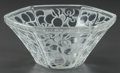 Art Glass:Lalique, FOUR R. LALIQUE RAISINS, SIX-PANS FINGER BOWLS, Circa 1923.M p. 727, No. 3102. Di. 4-3/4 in.. ... (Total: 4 Items)
