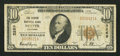 National Bank Notes:Colorado, Denver, CO - $10 1929 Ty. 1 The Denver NB Ch. # 3269. ...