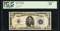 Small Size:Silver Certificates, Fr. 1650 $5 1934 Silver Certificate. PCGS Choice New 63.. ...