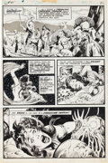 Original Comic Art:Panel Pages, John Buscema and the Crusty Bunkers Conan the Barbarian #45Page 16 Original Art (Marvel, 1974)....