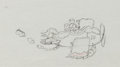 Animation Art:Production Drawing, The Mail Pilot Mickey Mouse Production Drawing Animation Art(Disney, 1933)....