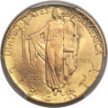 Commemorative Gold, 1926 $2 1/2 Sesquicentennial MS65 PCGS. CAC....