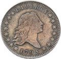 Early Half Dollars, 1795 50C 2 Leaves, O-108a, R.4, Fine 12 PCGS....