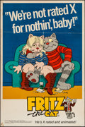 "Movie Posters:Animation, Fritz the Cat (Cinemation Industries, 1972). First Release SpecialPromotional Poster (18"" X 27""). Animation.. ..."