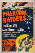 "Movie Posters:Crime, Phantom Raiders (MGM, 1940). One Sheet (27"" X 41""). Crime.. ..."