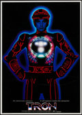 "Movie Posters:Science Fiction, Tron (Buena Vista, 1982). Japanese B2 (20"" X 29""). Science Fiction.. ..."