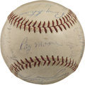Autographs:Baseballs, 1959 Chicago White Sox Team Signed Baseball. In 1959 the ChicagoWhite Sox dueled the vaunted Los Angeles Dodgers in the Wo...