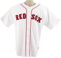 2007 David Ortiz Game Worn Jersey. One of the greatest clutch batters to suit up in a Boston Red Sox uniform, the man th...