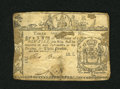 Colonial Notes:New York, New York February 16, 1771 £3 Fair-About Good....