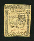 Colonial Notes:Pennsylvania, Pennsylvania July 20, 1775 40s Extremely Fine-About New....