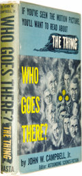 Books:Signed Editions, John W. Campbell, Jr.: Signed Movie Edition of Who GoesThere? (Chicago: Shasta Publishers, 1951), 230 pages, brownclot... (Total: 1 Item)