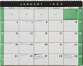 Explorers:Space Exploration, Gus Grissom's Personally-Owned and Used 1960 Appointment Calendar....