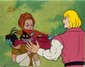 Animation Art:Production Cel, He-Man and the Masters of the Universe Prince Adam, QueenAura and Orko Production Cel and Drawing Set-Up with COA Ani...(Total: 6 Items)