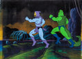 Animation Art:Production Cel, He-Man and the Masters of the Universe Skeletor and HenchmanProduction Cel Set-Up with COA Animation Art (Filmation, ...(Total: 3 Items)