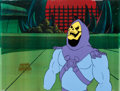 Animation Art:Production Cel, He-Man and the Masters of the Universe Skeletor ProductionCel with COA Animation Art (Filmation, 1983).... (Total: 3 Items)