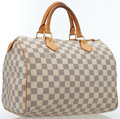 Luxury Accessories:Bags, Louis Vuitton Damier Azur Canvas Speedy 30 Bag. ...