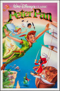 """Movie Posters:Animation, Peter Pan & Other Lot (Buena Vista, R-1989). One Sheets (2)(26.75"""" X 39.75"""" & 27"""" X 41"""") SS & DS. Animation.. ...(Total: 2 Items)"""