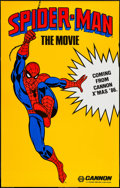"Movie Posters:Action, Spider-Man (Cannon, 1985). One Sheet (29.5"" X 46.5"") Advance. Action.. ..."