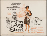 "On Any Street (Miller-Consolidated Pictures, 1962). Half Sheet (22"" X 28""). Foreign"