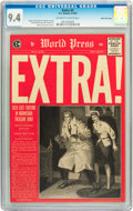 Golden Age (1938-1955):Crime, Extra! #2 Gaines File pedigree 6/12 (EC, 1955) CGC NM 9.4 Off-white to white pages....