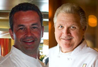 BATTLE OF THE CHEFS: HOLBEN VS. SEVY   Chef David Holben, Del Frisco's Double Eagle Steak House and Chef