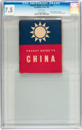 Golden Age (1938-1955):War, Pocket Guide to China #nn (1942) CGC VF- 7.5 White pages....