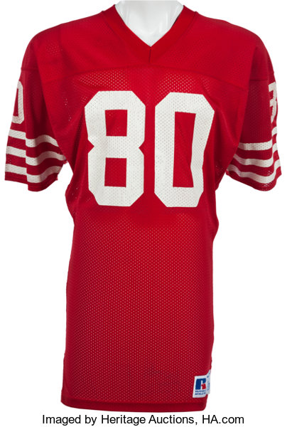 7c7b629d3ed 1985-88 Jerry Rice Game Worn San Francisco 49ers Jersey
