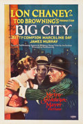 "Movie Posters:Crime, The Big City (MGM, 1928). One Sheet (27"" X 41"").. ..."