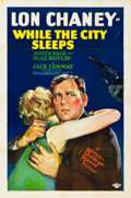 "Movie Posters:Crime, While the City Sleeps (MGM, 1928). One Sheet (27"" X 41"").. ..."