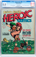 Golden Age (1938-1955):Superhero, Heroic Comics #1 (Eastern Color, 1940) CGC VF 8.0 Off-white pages....