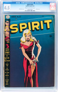 Golden Age (1938-1955):Superhero, The Spirit #22 (Quality, 1950) CGC VG+ 4.5 Cream to off-white pages....