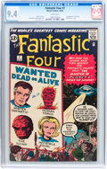 Silver Age (1956-1969):Superhero, Fantastic Four #7 (Marvel, 1962) CGC NM 9.4 White pages....