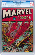 Golden Age (1938-1955):Superhero, Marvel Mystery Comics #43 (Timely, 1943) CGC FN+ 6.5 Off-white to white pages....