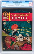 Golden Age (1938-1955):Superhero, All-American Comics #61 (DC, 1944) CGC FN- 5.5 Cream to off-white pages....