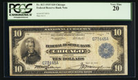 Fr. 813 $10 1915 Federal Reserve Bank Note PCGS Very Fine 20